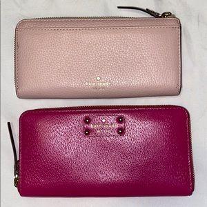 Selling each Kate Spade wallet separate